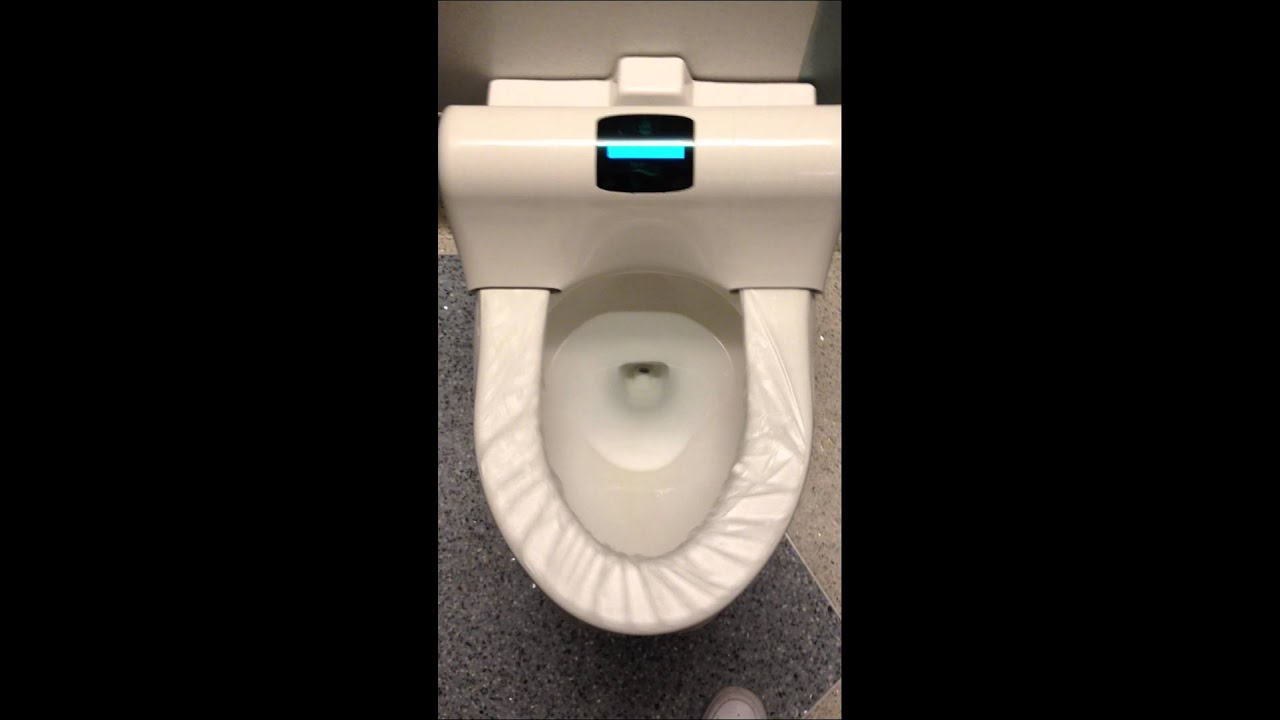 Automatic toilet seat covers   YouTube. Plastic Toilet Seat Covers. Home Design Ideas