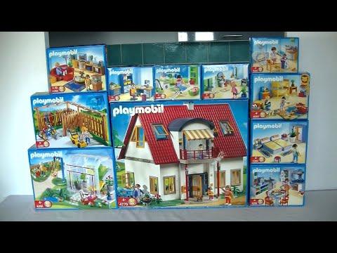 Unboxing Playmobil (fr) : La maison moderne (2008) - 4279, 4280, 4281,  4282, 4283, 4284 ... 4289