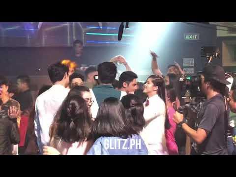 More Walwal party scenes BTS with DonKiss, Elmo Magalona, Kiko Estrada, Devon Seron, Jerome Ponce