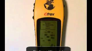 Etrex0x use Garmin how to