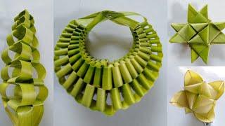 #4 DIY Art & Craft idea by coconut leaves @