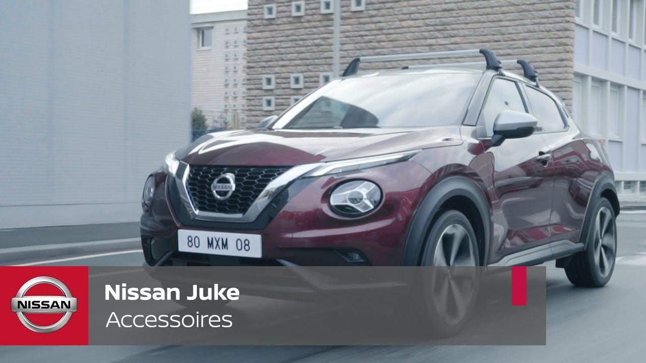 Découvrez les accessoires du Nissan JUKE