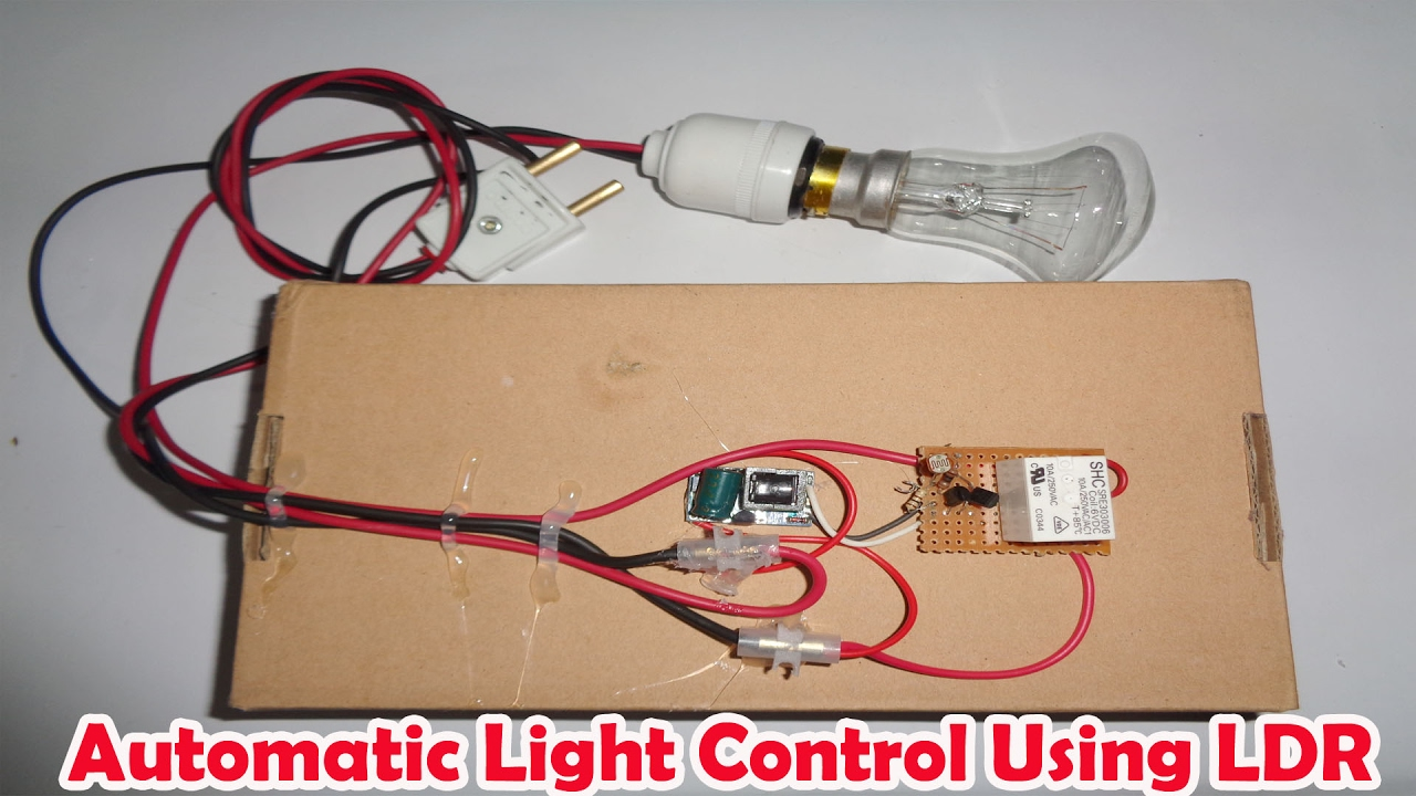 Automatic Light Control Automated Lighting System For Home Youtube Circuit Diagram Using Ldr