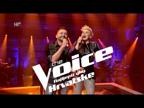 "Mentori Indira  & Ivan: ""Perfect 10"" - The Voice of Croatia - Season 2 - Knockout 2"