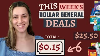 6 All Digital Dollar General Deals for under $1 per item - AS LOW AS $0.15 FOR EVERYTHING