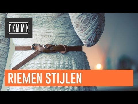 Riemen Stijlen - FEMME