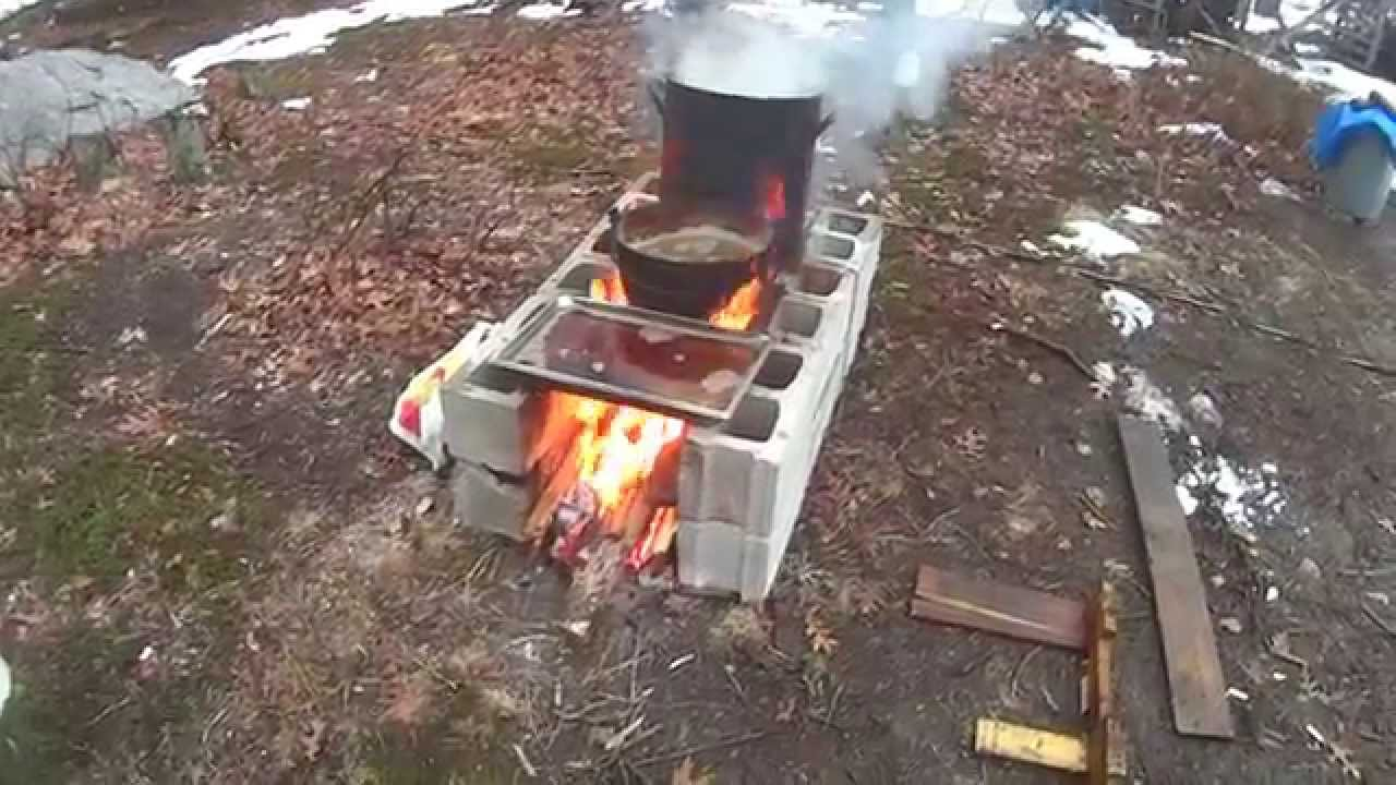 Making Maple Syrup On My Improvised Free Evaporator Pt II - Making Maple Syrup On My Improvised Free Evaporator Pt II - YouTube