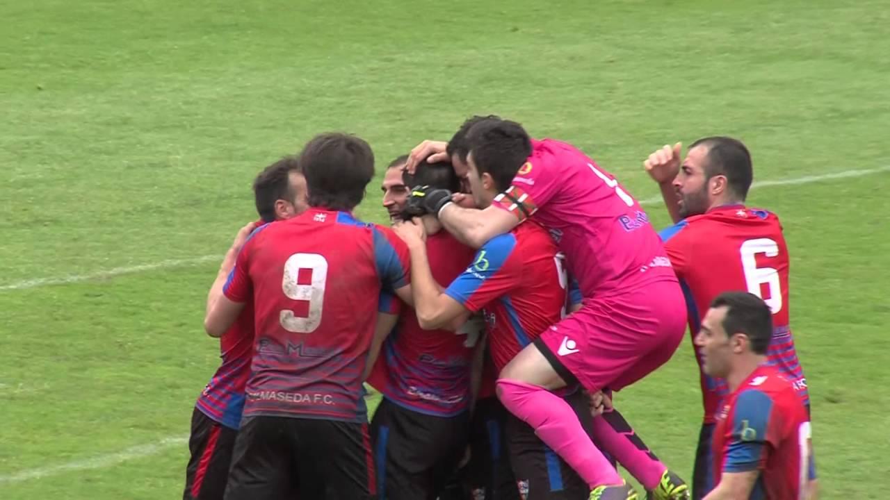 Tercera División Grupo 4, temp.2015-16. Resumen Balmaseda 2-Lagun ...