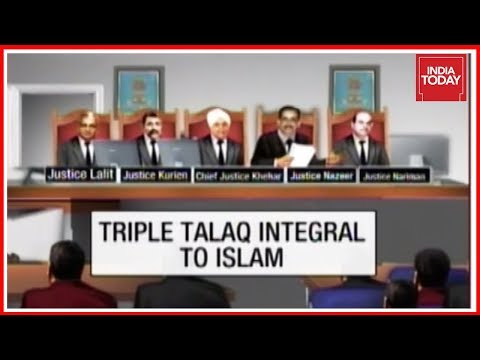 #NoMoreTripleTalaq : Supreme Court Taken Decisive Step In Divorcing Law From Religion ?