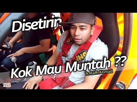 Drift Challenge With Raffi Ahmad // NGANTRI BARIS