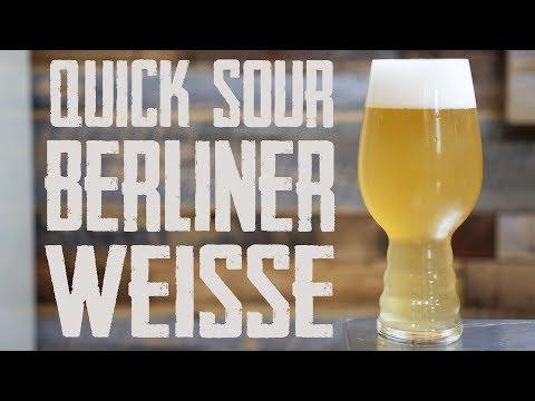 Quick Soured Berliner Weisse