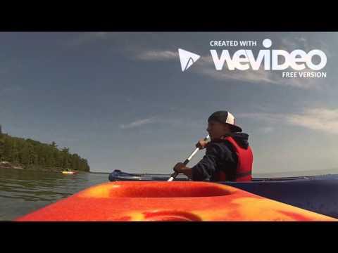 Kayaking at Door County Wisconsin