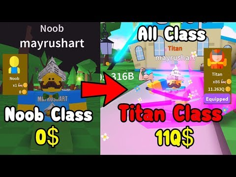 Unlocked Titan Class! Becoming OP Top Player - Saber Simulator