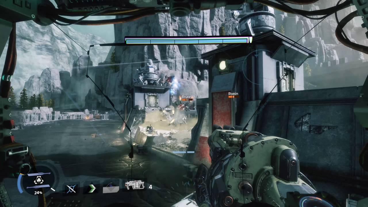 Геймплей Titanfall 2 в 4K разрешении и при 60 FPS. NVIDIA TITAN X