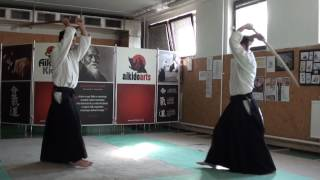 ken no awase 6 [TUTORIAL] Aikido advanced weapon technique: