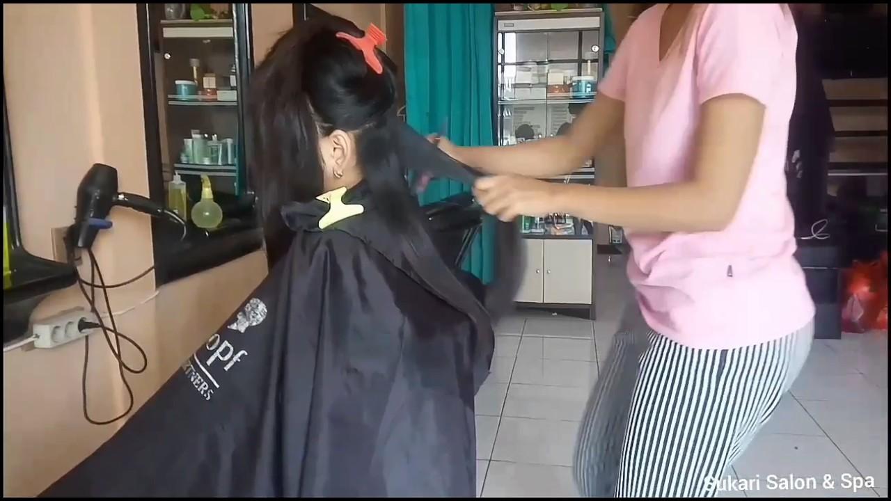 Potong Rambut Segi panjang - YouTube d9cae70cb9
