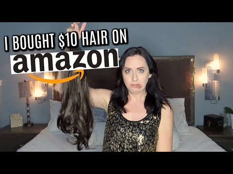 $10 HAIR EXTENSIONS FROM AMAZON// SARLA HAIR EXTENSIONS// HOW TO PUT IN HAIR EXTENSIONS