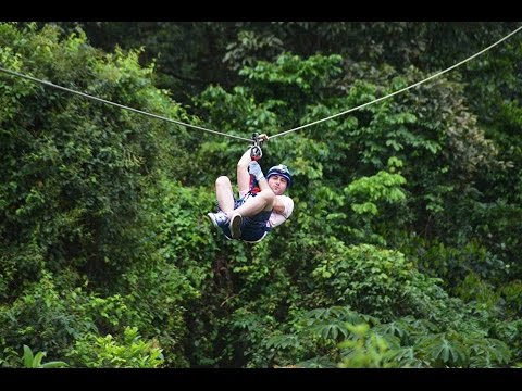 Extreme 7 Zip Lines | Arenal | La Fortuna | Costa Rica 2016