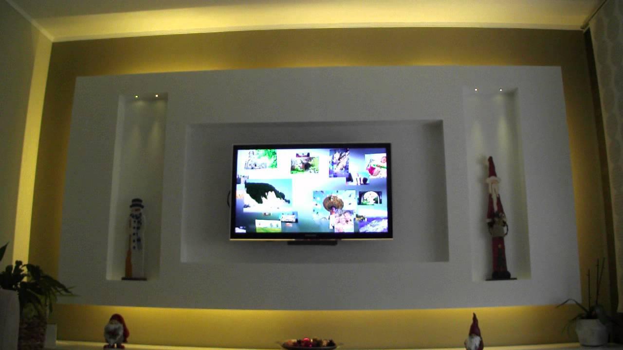 Großartig Led Tv wand eigenbau - YouTube XD18