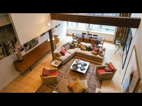 WSJ House of the Day: $6.75M Duplex Loft in TriBeCa
