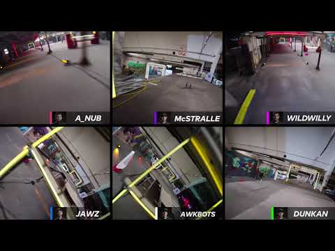 Six Up FPV In 2017 Munich Playoffs | Drone Racing League