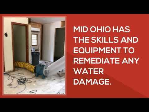 Akron OHIO Water Damaged Basement Cleanup