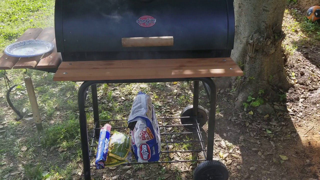 chargriller super pro 29in barrel charcoal grill at - 1280×720