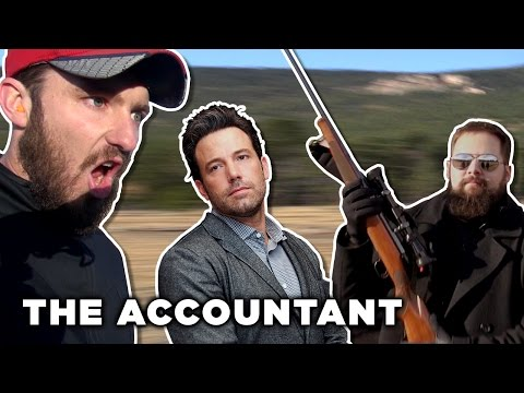 The Accountant Sniper Challenge
