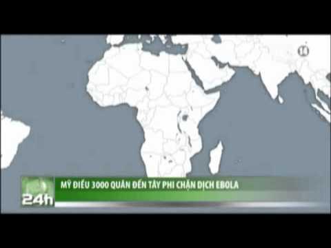 VTC14_Mỹ điều 3.000 quân đến Tây Phi chặn dịch Ebola