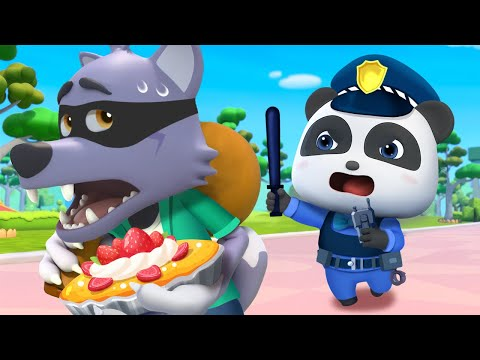 Who Took the Pie? | Police Cartoon | Five Senses | for kids | Nursery Rhymes | Kids Songs | BabyBus - Видео онлайн