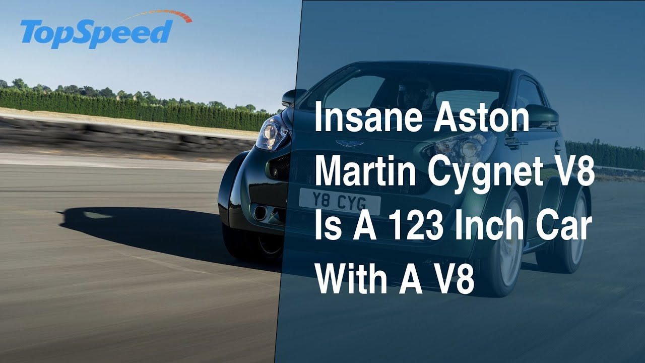 Insane Aston Martin Cygnet V8 Is A 123 Inch Car With A V8 Youtube