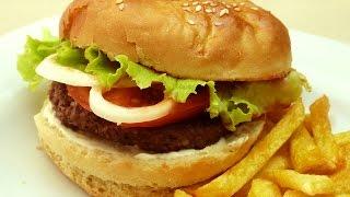 Рецепт гамбургера - Пирожки и булочки