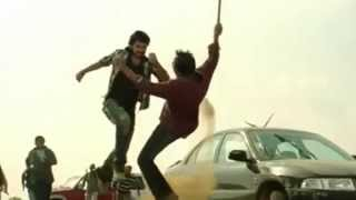 Tamil movie fight scene with UFC Commentary
