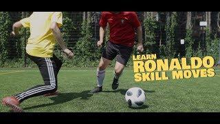 Learn Ronaldo Step Double Touch Football Skill