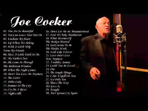 Joe Cocker Greatest Hits _  Joe Cocker Best Songs HD HQ Mp3