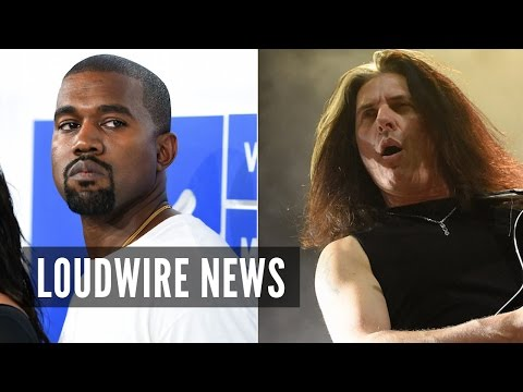 Kanye West Gets Blasted by Metal Legend for Wearing Band T-Shirt Mp3