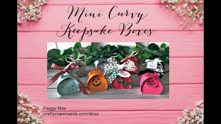 Tatil Mini Curvy Hatıra Kutuları Oluşturun!