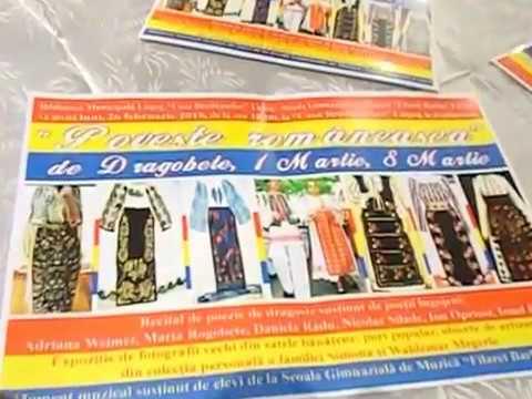 """""""Poveste românească"""" de Dragobete, 1 Martie, 8 Martie -la """"Casa Bredicenilor"""" Lugoj-26 02 2018-v1 AW"""