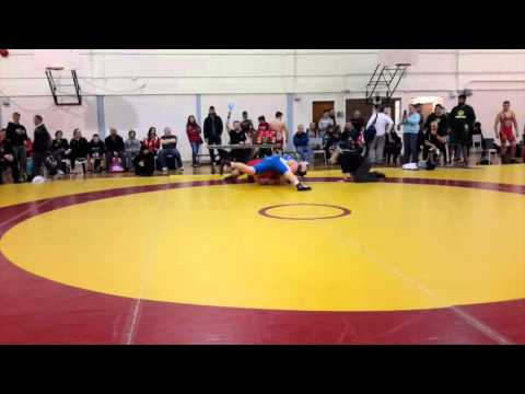 2016 Canadian Junior Greco-Roman Championships: 120 kg Parker Florell vs. Chris O'Toole