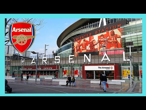 LONDON, outside views of ARSENAL'S football stadium (The EMIRATES)