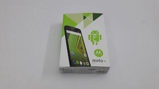 Motorola Moto X Play unboxing - فتح صندوق هاتف موتورولا موتو اكس بلاي