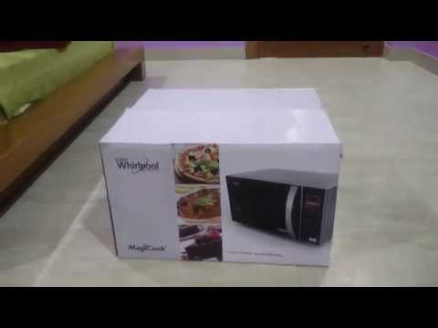 Whirlpool magic cook 20 ltrs Microwave OVEN 5 in 1 unboxing