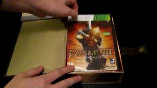 Unboxing Fable III - Limited Collector