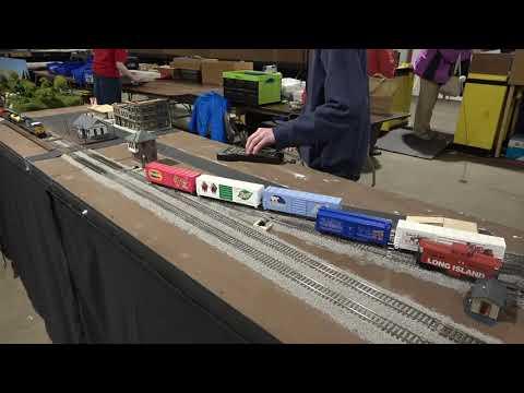 Timonium MD Train Show Model Displays 02 01 20