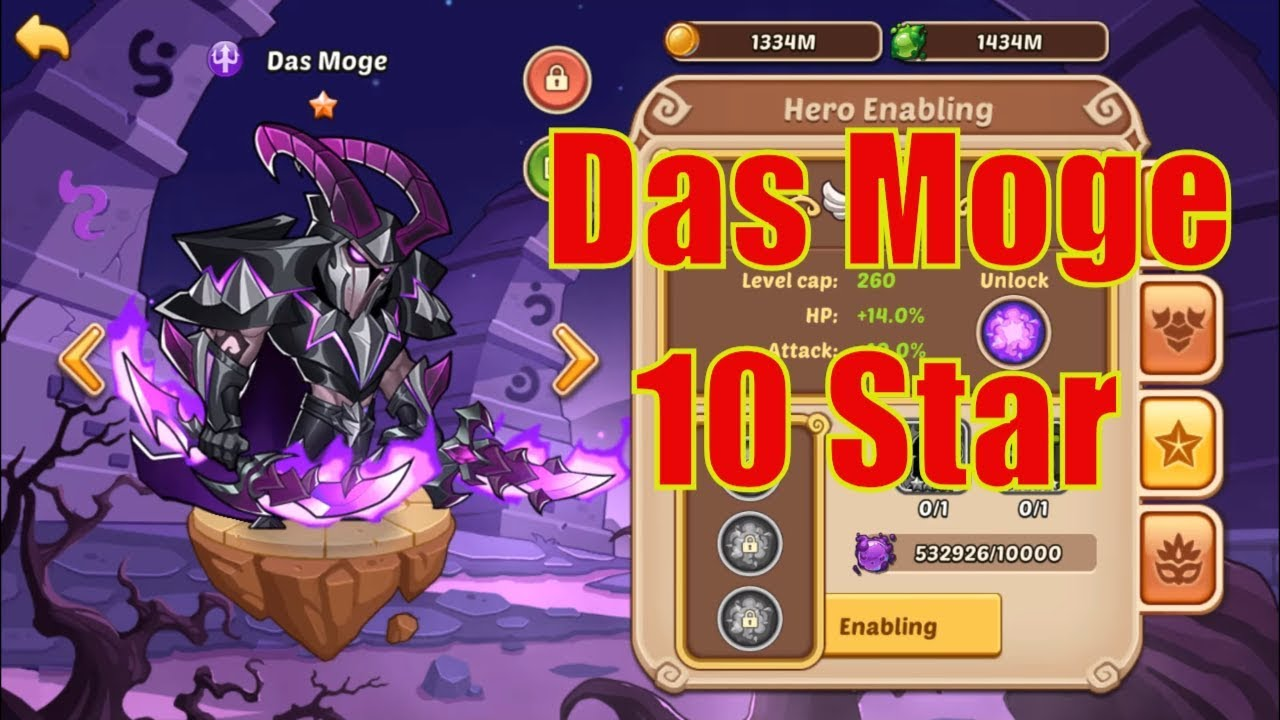 Idle Heroes - Das Moge 10 Star - Team Dark/Light
