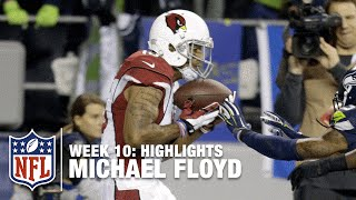 Michael Floyd Highlights (Week 10) | Cardinals vs. Seahawks | NFL