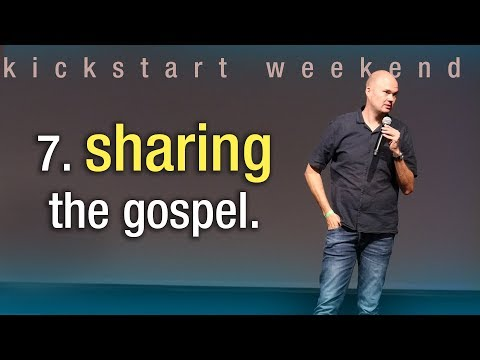 7. Sharing the gospel - Kickstart weekend The Netherlands (Saturday)