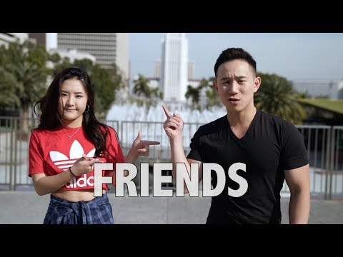 FRIENDS - Marshmello & Anne-Marie (Jason Chen x Megan Lee)