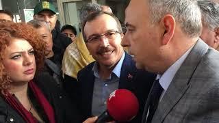 AK PARTİLİ VE CHP'Lİ VEKİL KAMERALAR ÖNÜNDE TARTIŞTI www.kirkagac.net