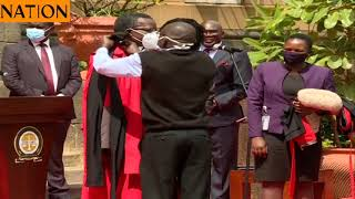 Mwilu takes helm of Judiciary as Maraga retires
